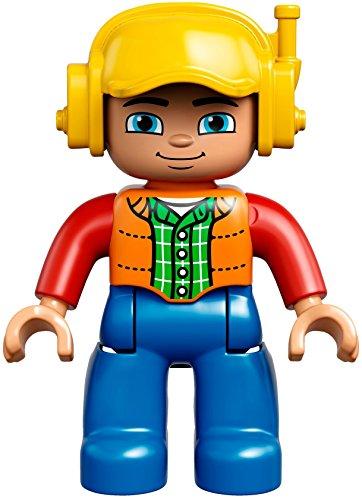 Chantier Noël Duplo 10813 Ville Papa Le Lego Grand Liste dBoexC