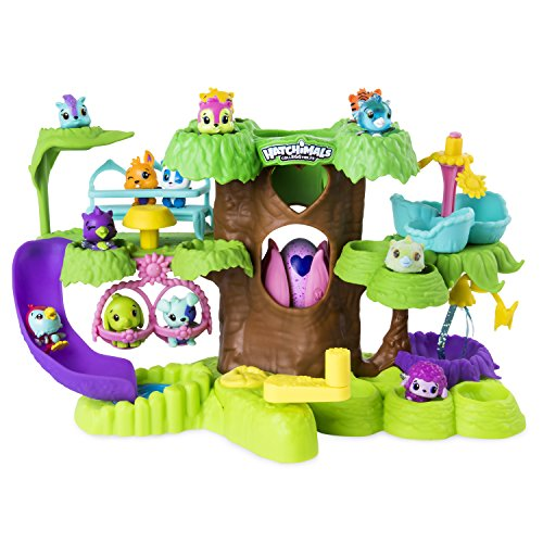 Hatchimals forêt toboggan