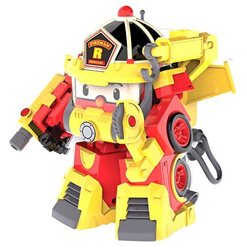 Robocar poli 83314 robocar transformables action pack roy pompier liste papa no l jouets - Dessin anime de robocar poli ...