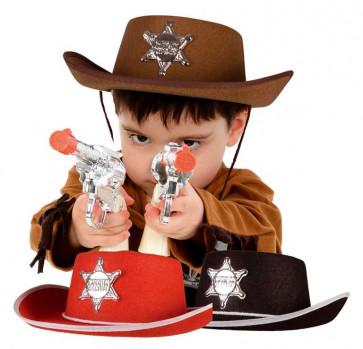 Chapeau Cowboy maxi toys 10027160 Existe en rouge