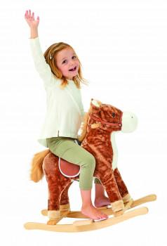 Cheval à bascule avec son maxi toys 10151805 Cheval à bascule avec son Monter à cheval