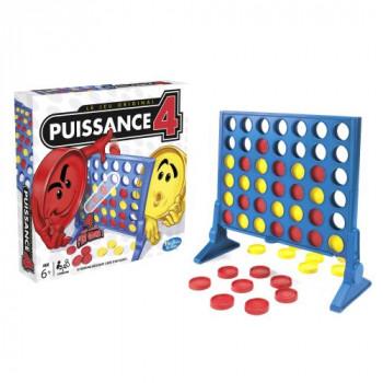 Puissance 4 maxi toys 10228629 Mets tes amis au défi et propose-leur une passionnante partie de Puissance 4! Insère les pions rouges ou jaunes dans la grille et sois le premier à aligner 4 pions. Si ton adversaire est en passe de gagner