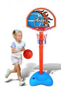 Basket Junior maxi toys 10408952 Basket Junior Ce Set basket-ball junior trouve sa place dans un coin du jardin ou sur la terrasse