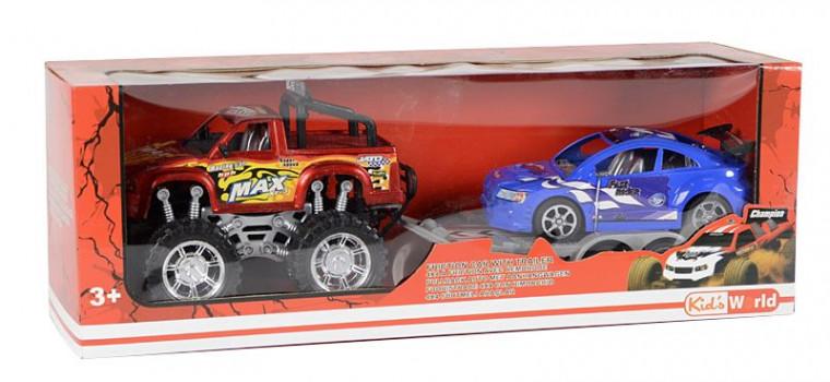 4X4 + remorque maxi toys 10409049 3 modèles disponibles
