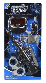 Panoplie de police maxi toys 10454542 Panoplie de police Voici la panoplie idéale pour devenir un vrai policier ! Dès qu'il enfile son casque