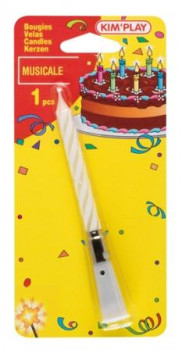 Bougie musicale maxi toys 10622449 Fête ton anniversaire en musique avec cette bougie.