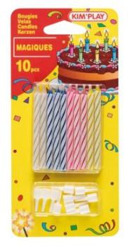 10 bougies magiques maxi toys 10622546 Les bougies magiques qui ne s'éteignent pas tout de suite!