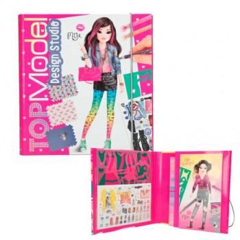 Create your Design Studio maxi toys 10635932 Crée et dessine tes tenues dans ton carnet Crée ton studio. Les pochoirs et étiquettes autocollantes incluses t'aideront. Modèle selon disponibilité.