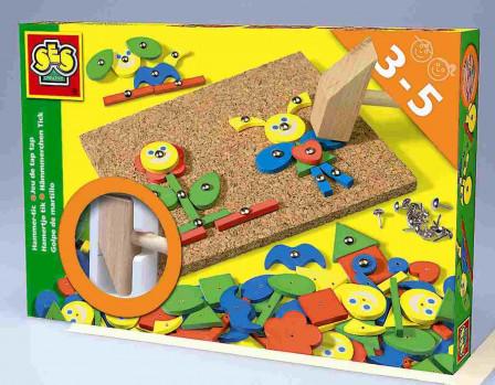 Jeu de tap tap maxi toys 10640394 Laisse libre court à ton imagination et réalise divers formes