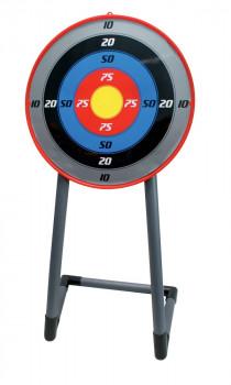 Cible sur pieds maxi toys 10721292 Cible sur piedsCette cible sur pieds Oasis sera parfaite pour l'entrainement de vos enfants au tir à l'arc en complément du set de tir à l'arc de la même marque ! Débutants