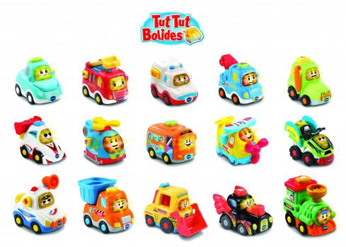 Tut Tut Bolides - Mini véhicule maxi toys 10759801 En route pour des kilomètres d'aventure avec les Tut Tut Bolides de VTech ! Ces adorables véhicules parlants
