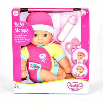 Poupée Maggie maxi toys 10833424 Poupée souple traditionnelle de la marque Qweenie Dolls (marque exclusive de Maxi Toys)