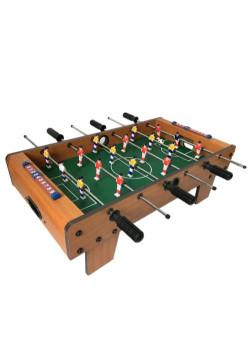 Mini football de table maxi toys 10882991 Mini football de tableLe temps ne permet pas d'aller faire un foot dans le jardin ou au parc ? Organisez donc une partie de babyfoot à l'intérieur ! Ce mini football de table s'installe sur la table de la cuisine ou de la salle à manger et permet de jouer à 2