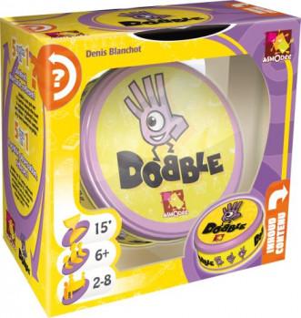 Dobble maxi toys 10927805 Dobble est un jeu d'observation et de rapidité dans lequel tous les joueurs jouent en même temps. 55 cartes comportant chacune 8 symboles