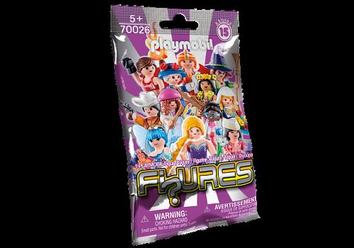 Sachet Mystère Rose - PLAYMOBIL Figures - 70026 maxi toys 10935662 Les PLAYMOBIL 'Figures' sont emballées dans des sachets individuels