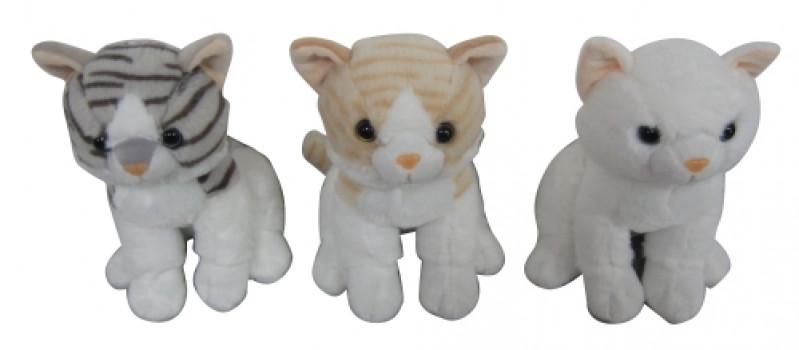 Peluche chat assis maxi toys 11148383 Peluche chat assisCe petit chat est trop mignon et il ne faudrait pas le laisser miauler