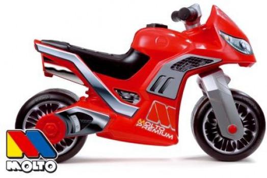 Porteur Moto Cross Premium - Rouge maxi toys 11163903 Superbe moto à pousser avec pneus résistants toute surface pour prendre du plaisir partout