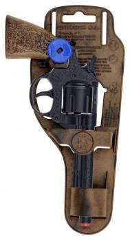 Revolver cowboy 8 coups maxi toys 11164388 Pistolet de Cow-boy en métal 8 coups. De haute qualité