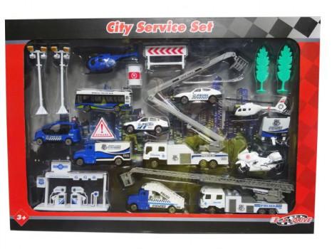 Set de véhicules en métal maxi toys 11164873 Set de véhicules en métalGrâce à ce set de véhicules en métal