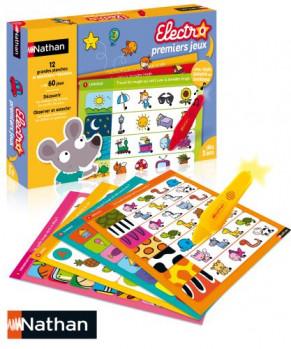 Electro Premiers Jeux maxi toys 11245480 Un jeu électronique de questions-réponses pour faire ses premiers apprentissages. Observation