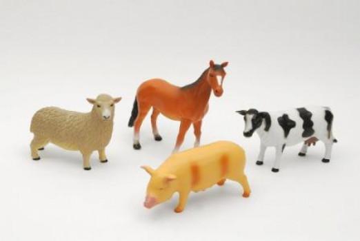 Animal de la ferme soft maxi toys 11271864 25 cm Assortiment de plusieurs animaux 1 animal à ce prix unitaire