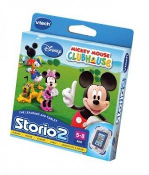 Storio 2- jeu La Maison de Mickey maxi toys 11313380 Jeu valable sur les tablettes Storio 2 et 3