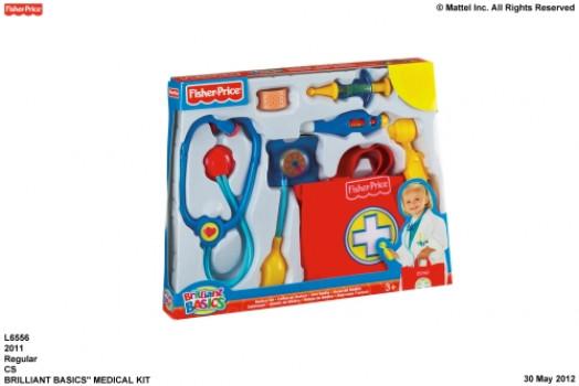 Kit médical maxi toys 11468289 Coffret du docteur. Exactement ce dont a besoin un médecin ! Un stéthoscope qui fonctionne