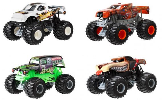 Monster Jam maxi toys 11480705 Echelle 1/24 Assortiment de plusieurs modèles