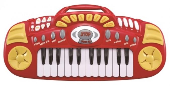 Clavier électronique musical maxi toys 11560924 Clavier électronique musicalLes vrais fans de musique aiment pouvoir emporter leur instrument partout avec eux. Ils vont adorer ce clavier électronique musical très facile à transporter avec sa poignée