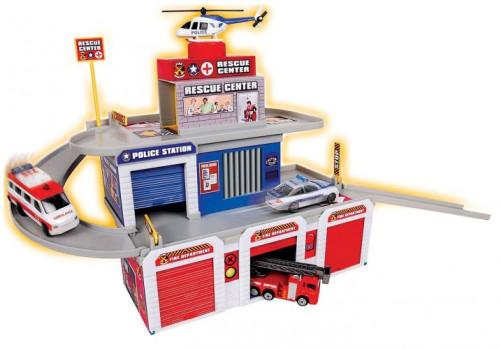 Centre de secours maxi toys 11561021 Centre de secoursLorsqu'ils sont jeunes