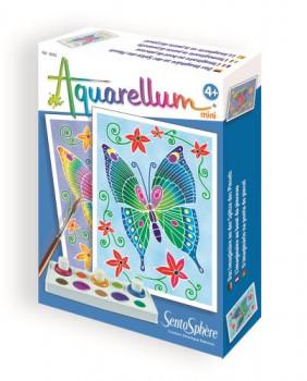 MINI AQUARELLUMS maxi toys 11593516 Les aquarellum mini ont été conçus pour s'initier à la désormais célèbre technique du sertissage. Avec 3 couleurs miscibles entre elles