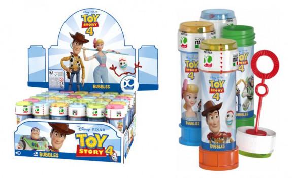 Bulles de savon Toy Story 4 maxi toys 6643490 Flacon de 60 ml. Vendu à l'unité. Modèle aléatoire.