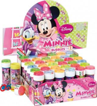 Bulles de savon Disney maxi toys 6643505 Flacon de 60 ml.Disponible en version La Reine des Neiges ou Minnie Mouse.Vendu à l'unité. Modèle aléatoire.