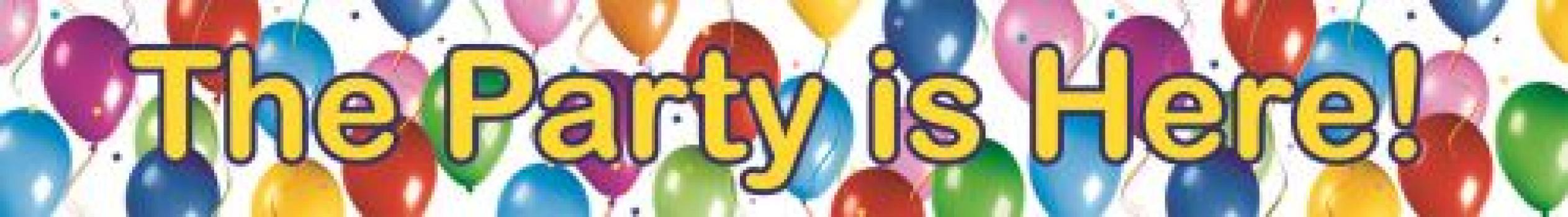 Balloons Flag banner maxi toys 6675219