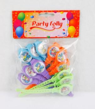 Party Folly -12 montres maxi toys 6678407 12 montres pour s'amuser autour de la table
