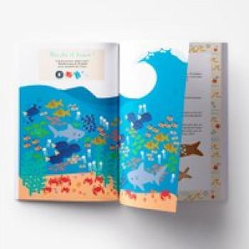 Carnet d'activités océan Les Jouets Français Cahier d'activités sur le thème océan
