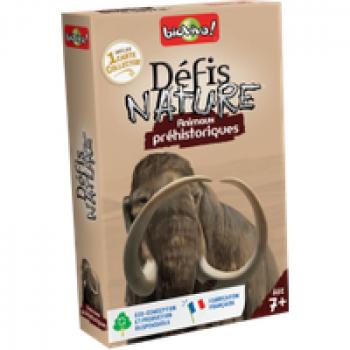 Défis Nature - Animaux préhistorique Les Jouets Français Jeu de bataille avec les animaux préhistorique