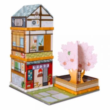 Sakura dori Les Jouets Français Jeu de construction et d'imagination 4 en 1