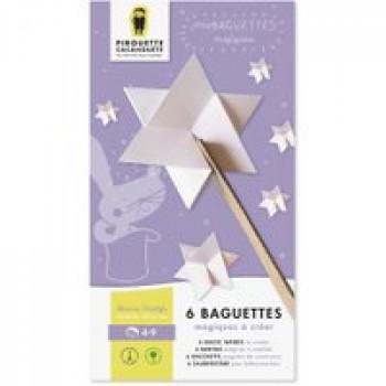 Mes baguettes magiques Les Jouets Français Baguettes magiques à fabriquer pour lancer pleins de sortilèges !