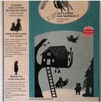 Pochette à histoires Contes merveilleux 2 Les Jouets Français Eteins la lumière