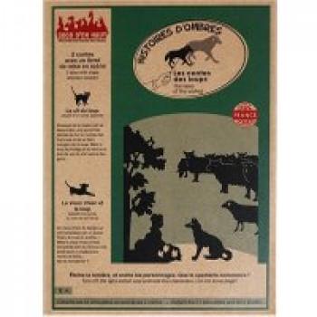 Pochette à histoire Loups Les Jouets Français Eteins la lumière