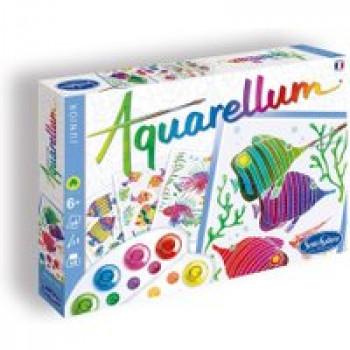 Aquarellum junior - Aquarium Les Jouets Français Tableaux sertis à peindre