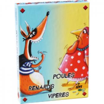 Poules Renards Vipères Les Jouets Français Les vipères piquent les renards