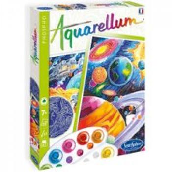 Aquarellum Phospho - Cosmos Les Jouets Français Tableaux à peindre qui brillent dans la nuit !