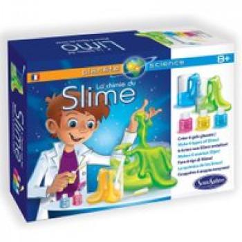 La chimie du Slime Les Jouets Français Mini laboratoire pour fabriquer du Slime