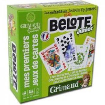 Grimaud junior Belote ! Les Jouets Français Jeu d'apprentissage de la Belote