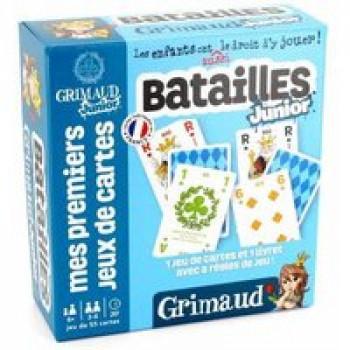 Grimaud junior Batailles ! Les Jouets Français Jeu pour apprendre à jouer aux jeux de Batailles