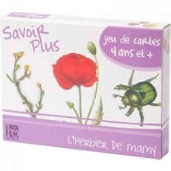 Savoir plus - L'herbier de mamy Les Jouets Français Jeu de 7 familles pour découvrir les plantes et les insectes