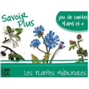 Savoir plus - Les plantes médicinales Les Jouets Français Jeu de 7 familles pour découvrir les plantes médicinales et leurs bienfaits