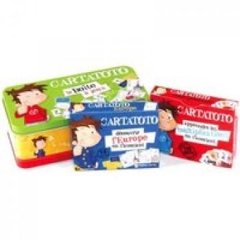 Cartatoto - La boîte à jeux primaire Les Jouets Français Apprendre avec des cartes à jouer